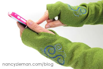 Stay Warm with Nancy Zieman's Texting Gloves