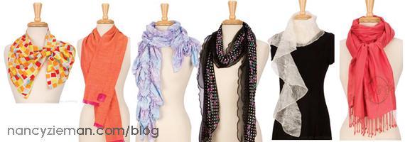 Sew Amazing Scarves by Nancy Zieman/Sewing With Nancy