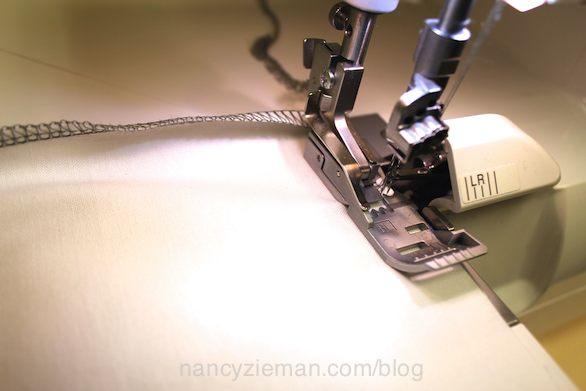 Nancy Zieman shows how to sew a travel pillow insert