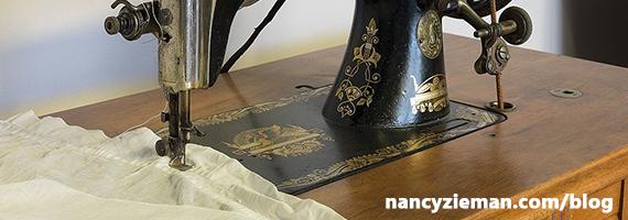 Singer Treadle Machine | Nancy Zieman | Sewing With Nancy