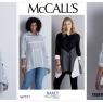 McCall's 7751 Color Blocked Shirt Pattern by Nancy Zieman