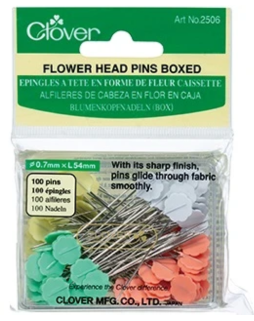Flower Head Pins availalbe at shopnzp.com