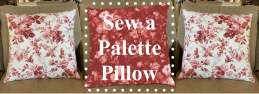 NEW! Nancy Zieman's Absolute Easiest Way to Sew Pillows: Palette Pillow FREE! Sewing Tutorial