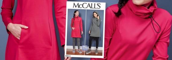 10-20-30 Minutes to Sew McCalls 8022 Tunic on Stitch it Sisters Program 114