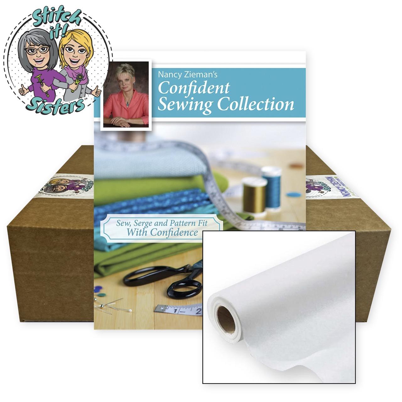 NEW! Pattern Fitting the Nancy Zieman Way Bundle Box available at shopnzp.com
