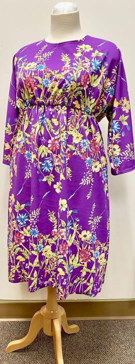 McCall's M7353 Knit Dress and Top pattern by Nancy Zieman