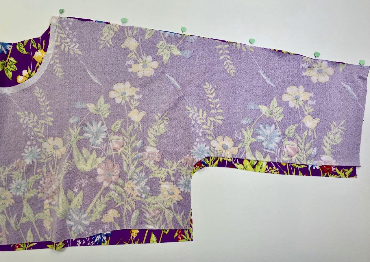 Sew a Super Quick Spring Dress McCall's 7353 by Nancy Zieman