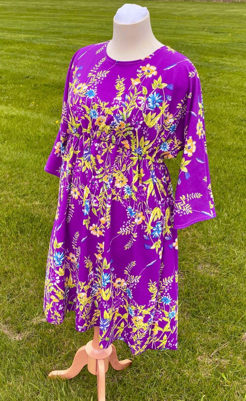 Sew A spring Dress McCalls M7353 on the Nancy Zieman Productions Blog