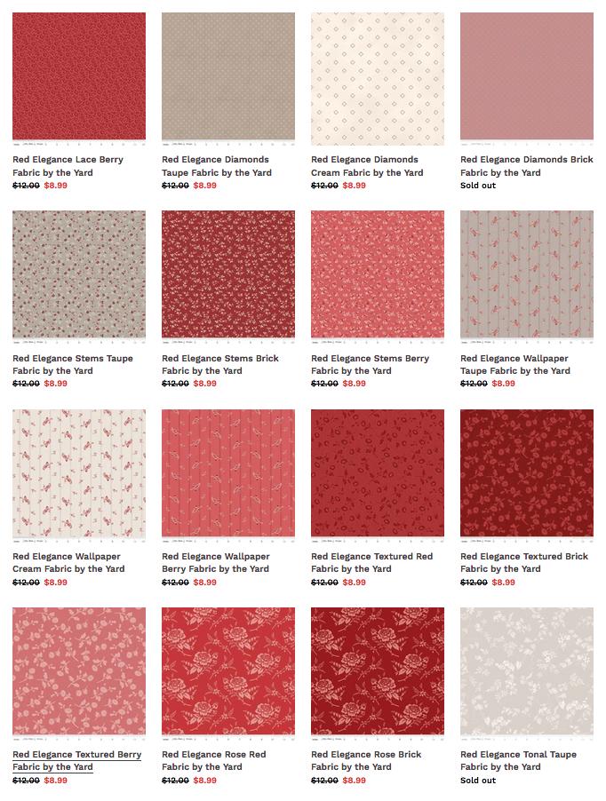 Shop Clearance Fabrics at ShopNZP.com